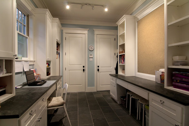 Traditional Laundry Room by Parker Stuckey Residential Design