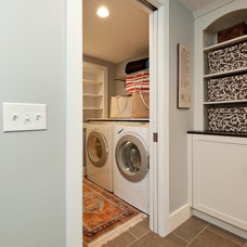 Traditional Laundry Room by Divine Design+Build