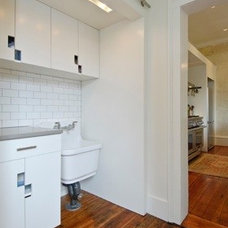 Contemporary Laundry Room by PG Gault