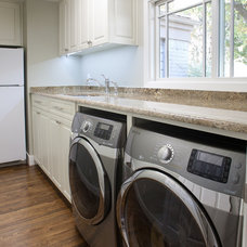 Contemporary Laundry Room by Redo Remodeling