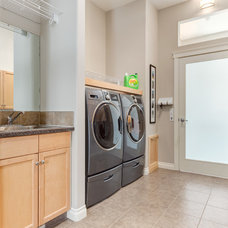 Traditional Laundry Room by Kon-strux Developments