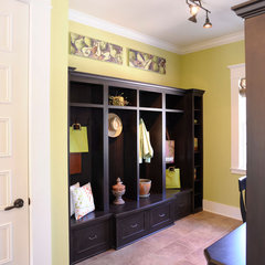traditional laundry room by Weaver Custom Homes