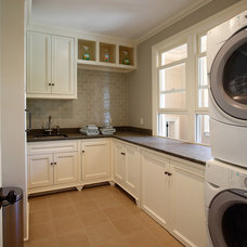 Traditional Laundry Room by Country Club Homes