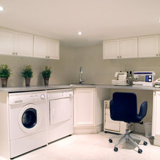 Contemporary Laundry Room by Norcon Home Improvements