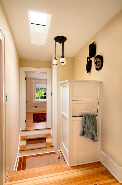 traditional laundry room by Henderer Design + Build