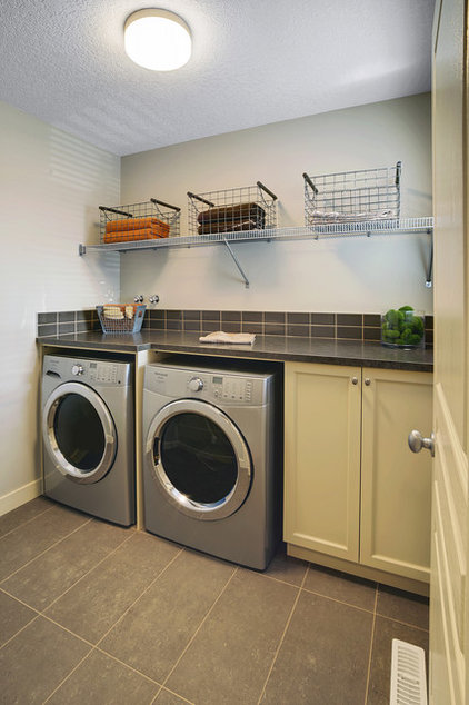 Contemporary Laundry Room by Sabal Homes