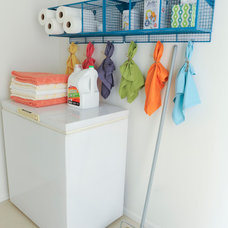Eclectic Laundry Room by A Good Chick To Know