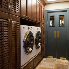 Traditional Laundry Room by Dan Brady Painting and Wood Restoration