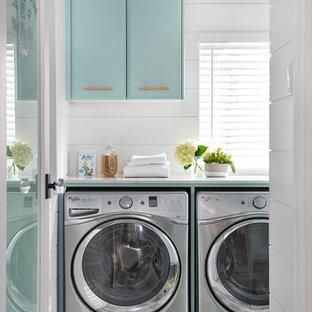 Foto på en retro tvättstuga