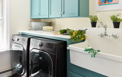 New This Week: 7 Lovely Laundry Rooms
