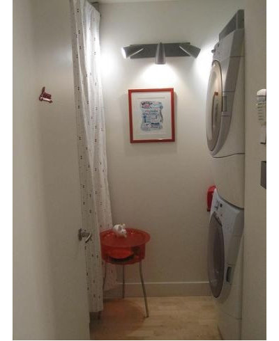 Eclectic Laundry Room by Toc Toc Toc... Entrez!
