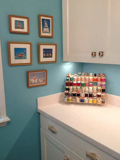 Eclectic Laundry Room by Lowe's of Whitehall, PA