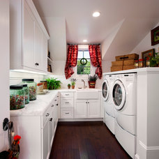Traditional Laundry Room by Giffin & Crane General Contractors, Inc.