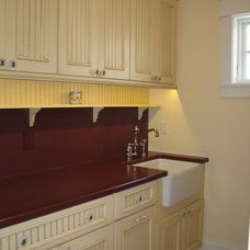 Traditional Laundry Room by Geneva Cabinet Company