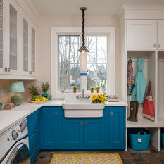 Laundry Room Design Ideas Remodels Amp Photos With Slate Floors
