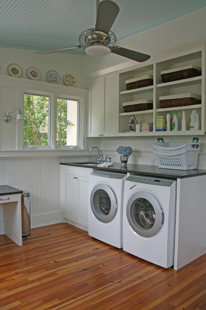 Traditional Laundry Room by Small Carpenters At Large, Inc.