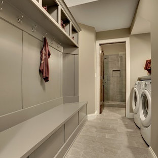 Photo of an arts and crafts laundry room in Minneapolis.