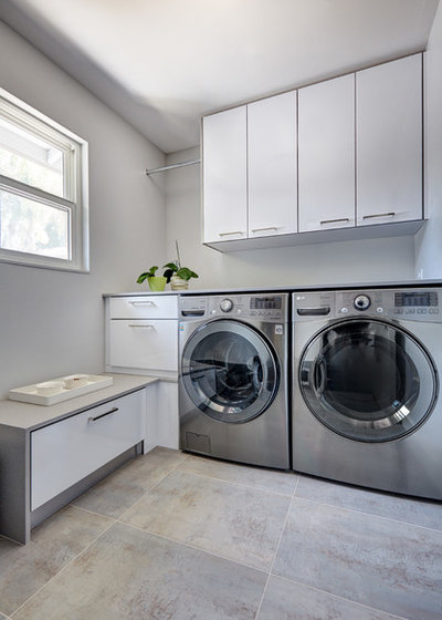 Contemporary Laundry Room by Nar Design Group