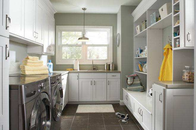 Traditional Laundry Room by Great Kitchens & Baths