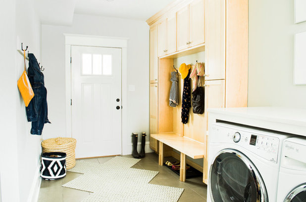 Traditional Laundry Room by MasterBrand Cabinets, Inc.