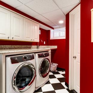 Foto på en vintage tvättstuga
