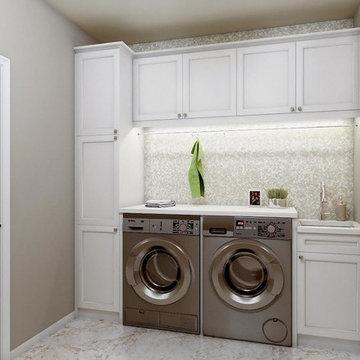 Arnold Powder & Laundry Room