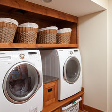Traditional Laundry Room by Residential Designed Solutions