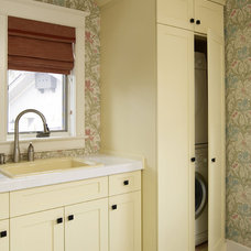 Traditional Laundry Room by Interior Works Inc