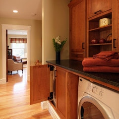 traditional laundry room by Mosby Building Arts