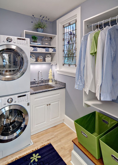 Traditional Laundry Room by Crystal Kitchen + Bath