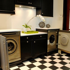 Eclectic Laundry Room by ASKO Appliances, Inc.