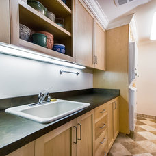 Contemporary Laundry Room by mark pinkerton  - vi360 photography