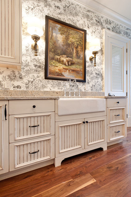 Traditional Laundry Room by Fowler Interiors