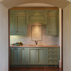 traditional laundry room by Sonoma Vintage Cabinets