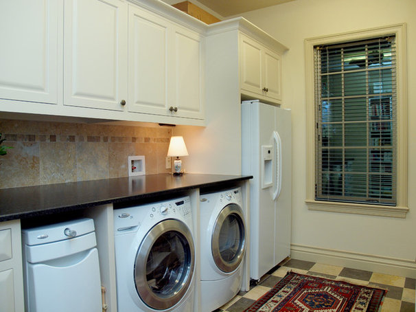 Traditional Laundry Room by Jan Niels