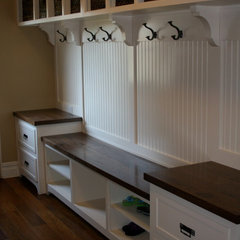 traditional laundry room by Byers Moseley Inc