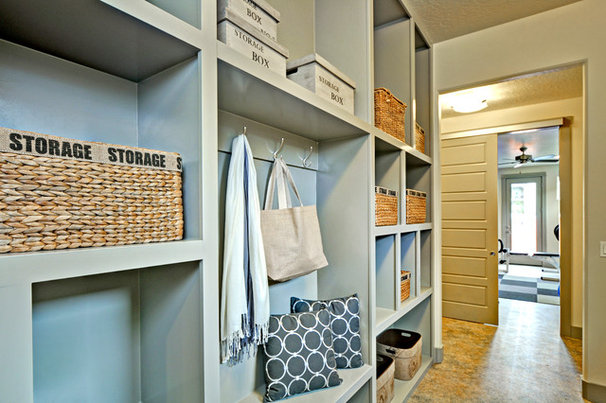 Contemporary Laundry Room by Boise Hunter Homes