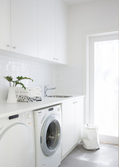 Contemporary Laundry Room by Studio Gorman
