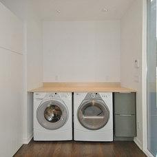 Modern Laundry Room by Hive Modular, LLC