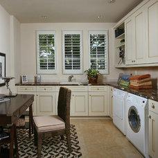 Mediterranean Laundry Room by London Bay Homes