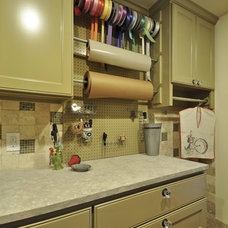 Traditional Laundry Room by GreenTex Builders LLC