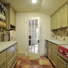 Traditional Laundry Room by GreenTex Builders LLC
