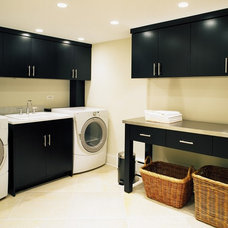 contemporary laundry room by Kitchens & Baths Unlimited