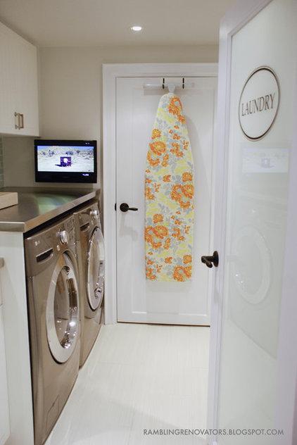 Contemporary Laundry Room by Jennifer - Rambling Renovators