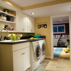 Contemporary Laundry Room by Fisher Group LLC