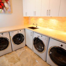Traditional Laundry Room by Tavan Group