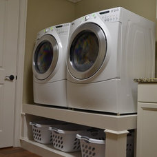 Traditional Laundry Room by Paragon Construction Services