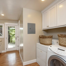 Traditional Laundry Room Bathroom Design Inspiration - Lafayette CA Homes Staged to Sell