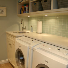 Traditional Laundry Room by Marino General Contracting Ltd
