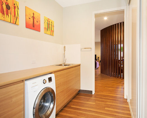 Laundry Room Design Ideas, Remodels & Photos with Laminate Countertops